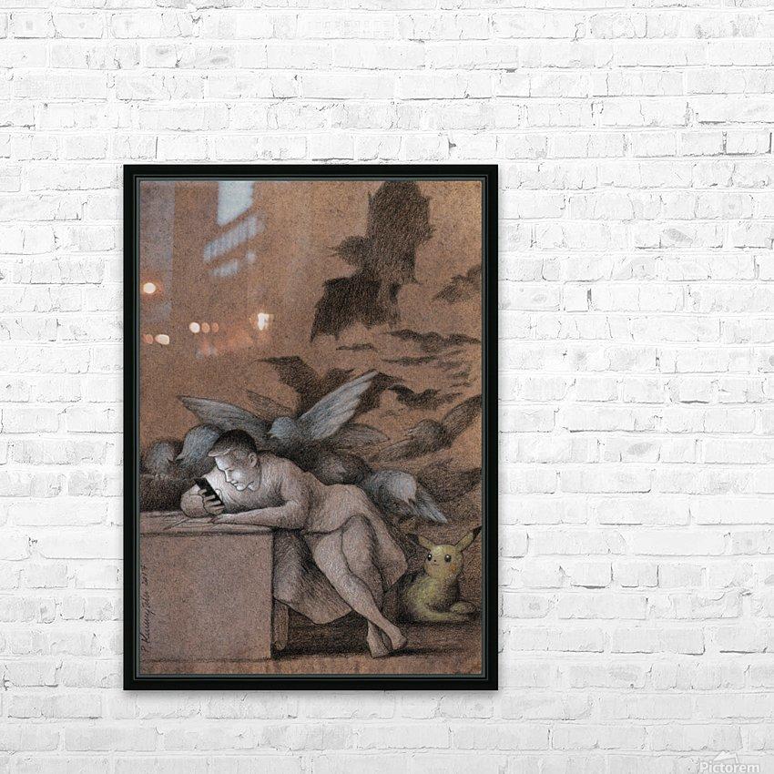 sleep of reason HD sublimation métal imprimé avec décoration flotteur cadre (boîte)