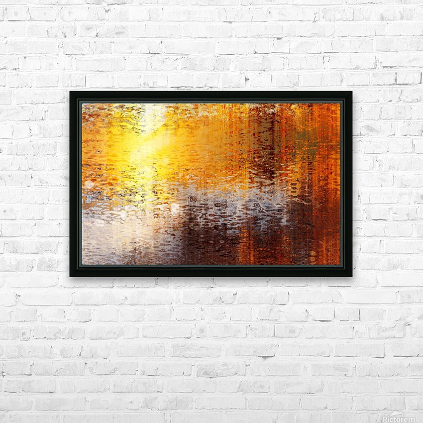 Destination HD Sublimation Metal print with Decorating Float Frame (BOX)