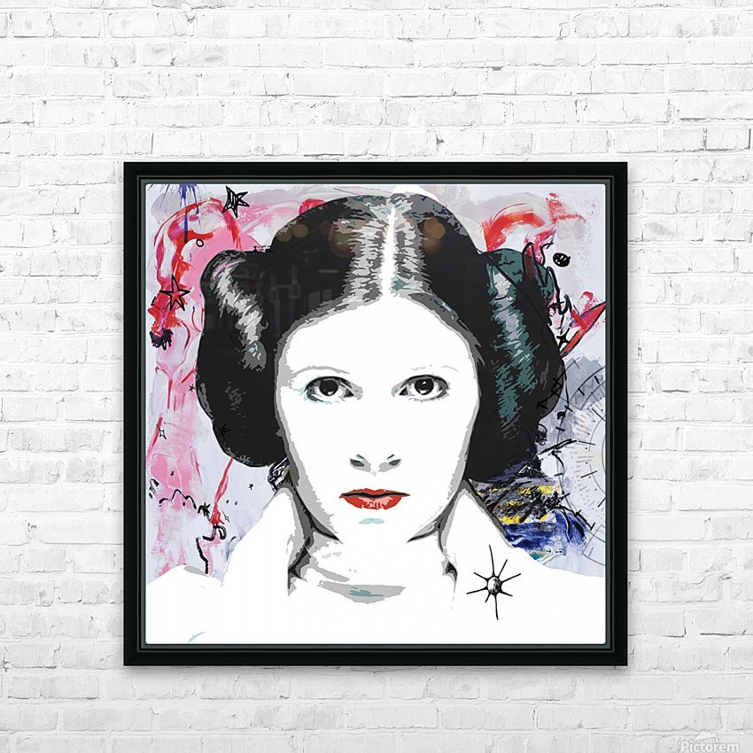 Leia HD Sublimation Metal print with Decorating Float Frame (BOX)