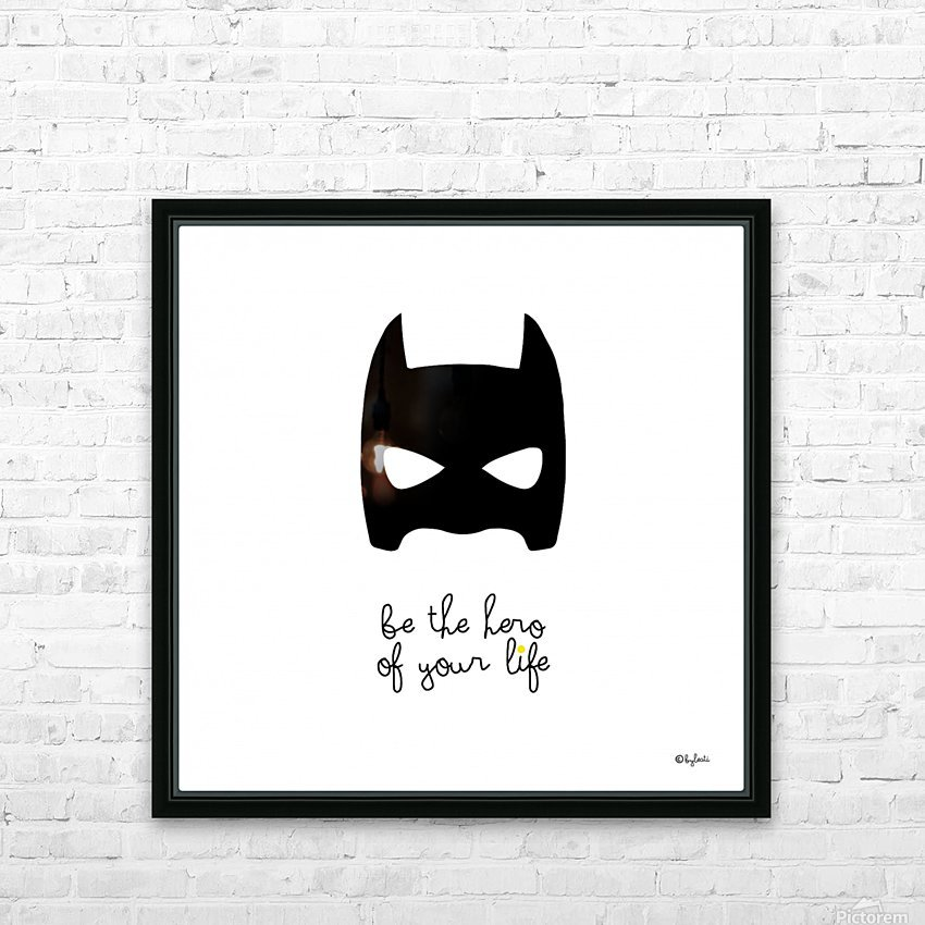 BATCHILD HD Sublimation Metal print with Decorating Float Frame (BOX)