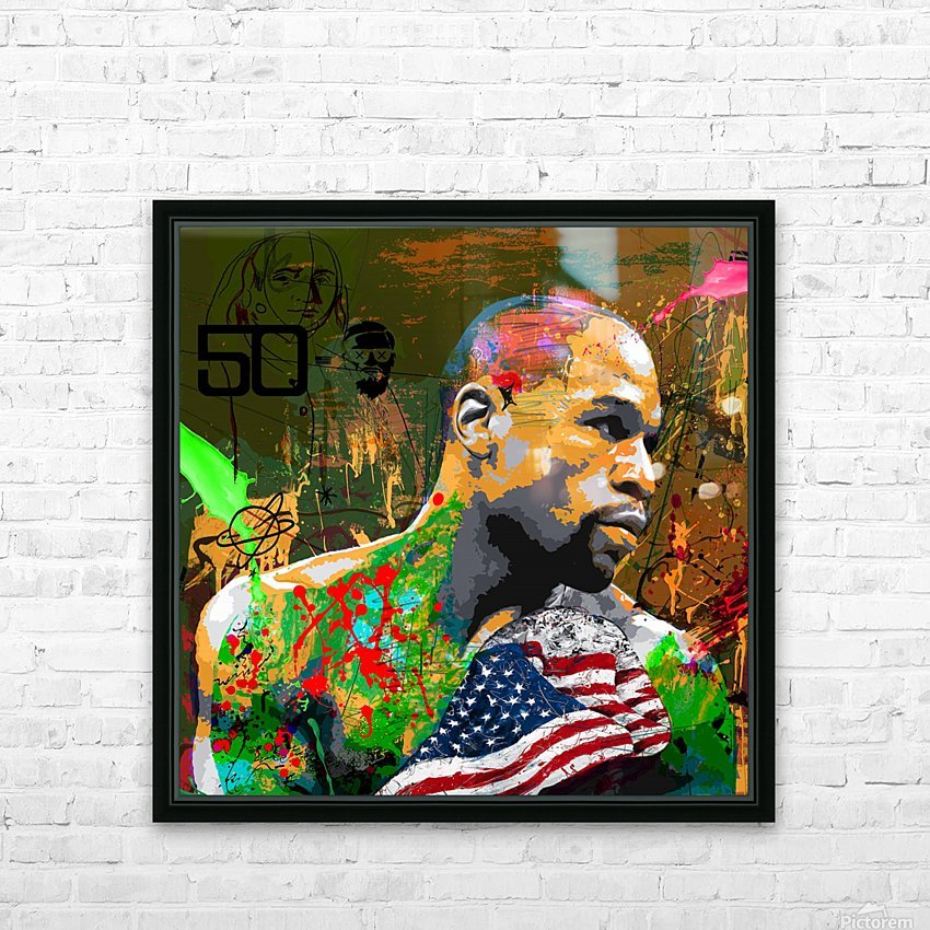 M 50 0 HD Sublimation Metal print with Decorating Float Frame (BOX)