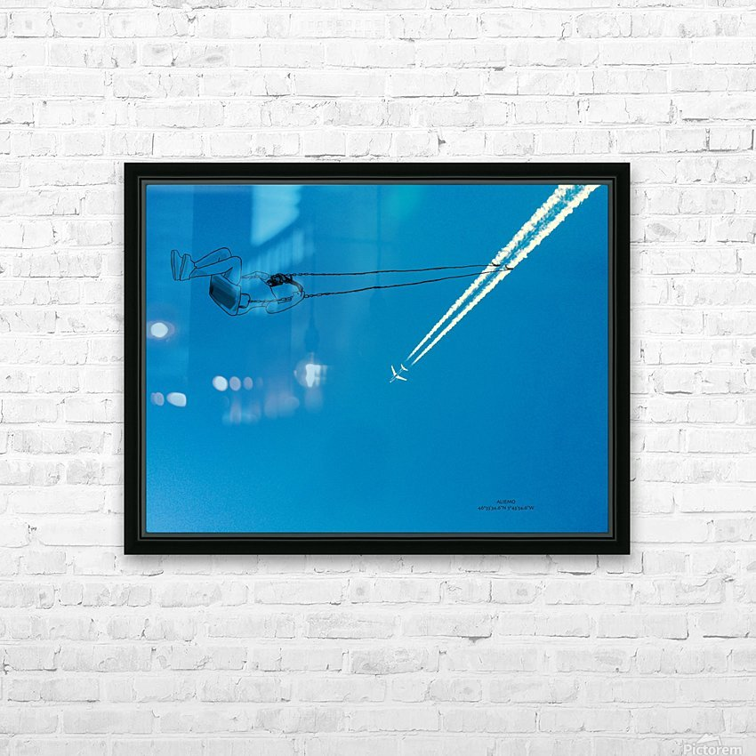 Swing HD Sublimation Metal print with Decorating Float Frame (BOX)