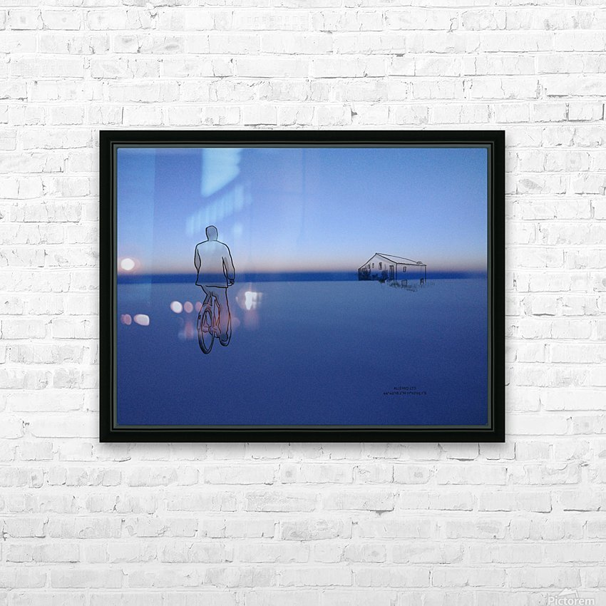 Home HD Sublimation Metal print with Decorating Float Frame (BOX)