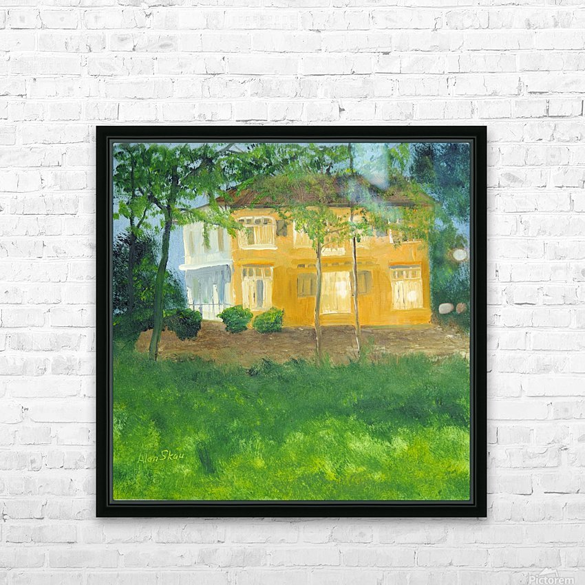 Unoccupied Estate. HD Sublimation Metal print with Decorating Float Frame (BOX)