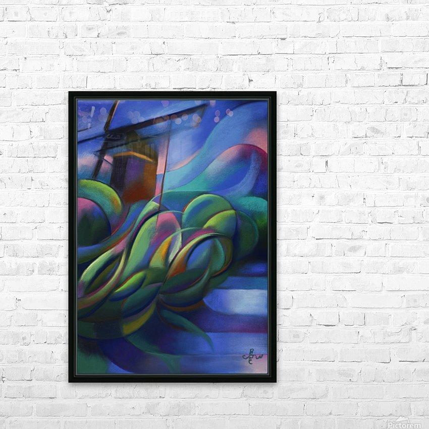 Nieuwe Veenmolen – 18-11-17 HD Sublimation Metal print with Decorating Float Frame (BOX)