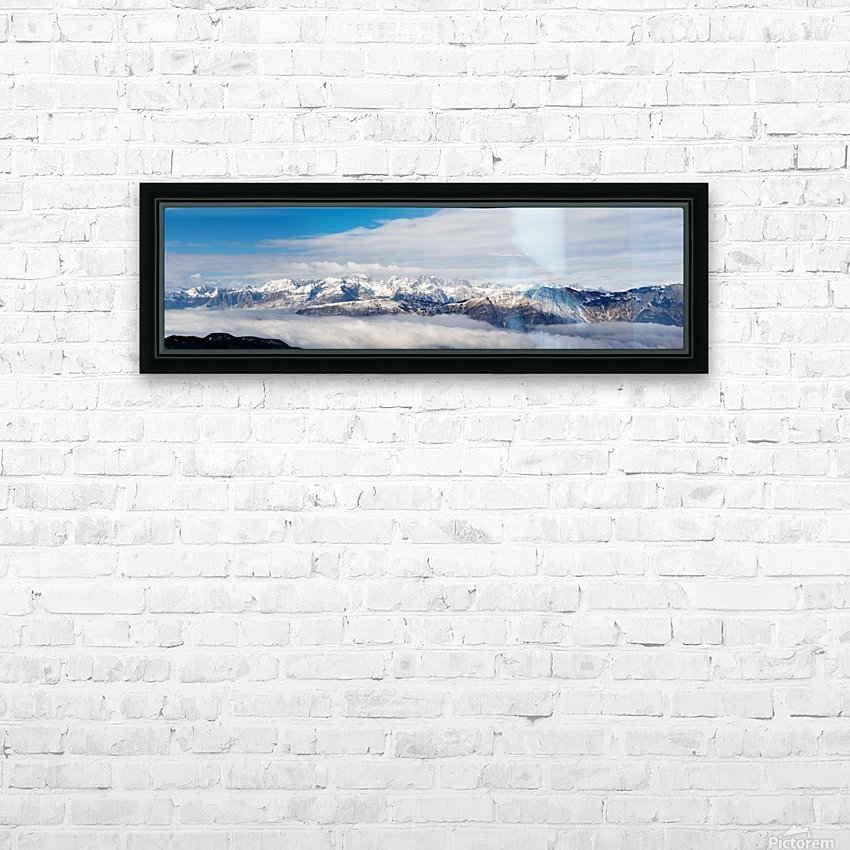 PanoramaSudTirol HD Sublimation Metal print with Decorating Float Frame (BOX)