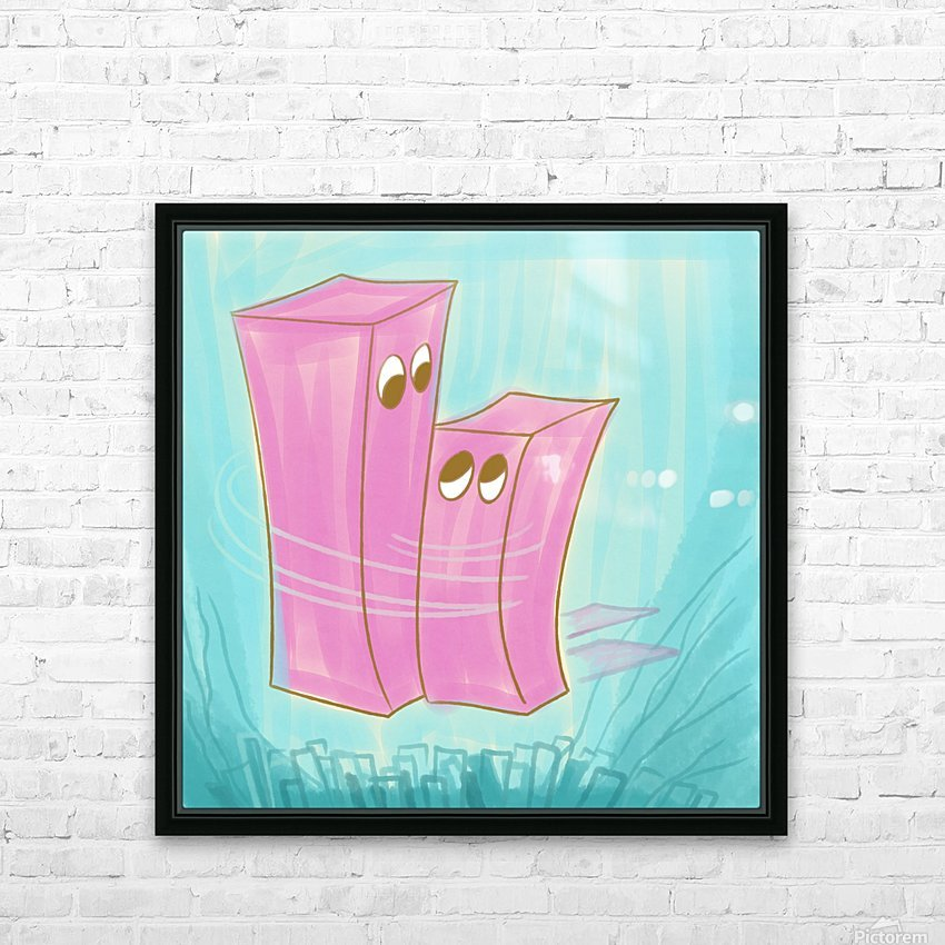 Mutual HD Sublimation Metal print with Decorating Float Frame (BOX)