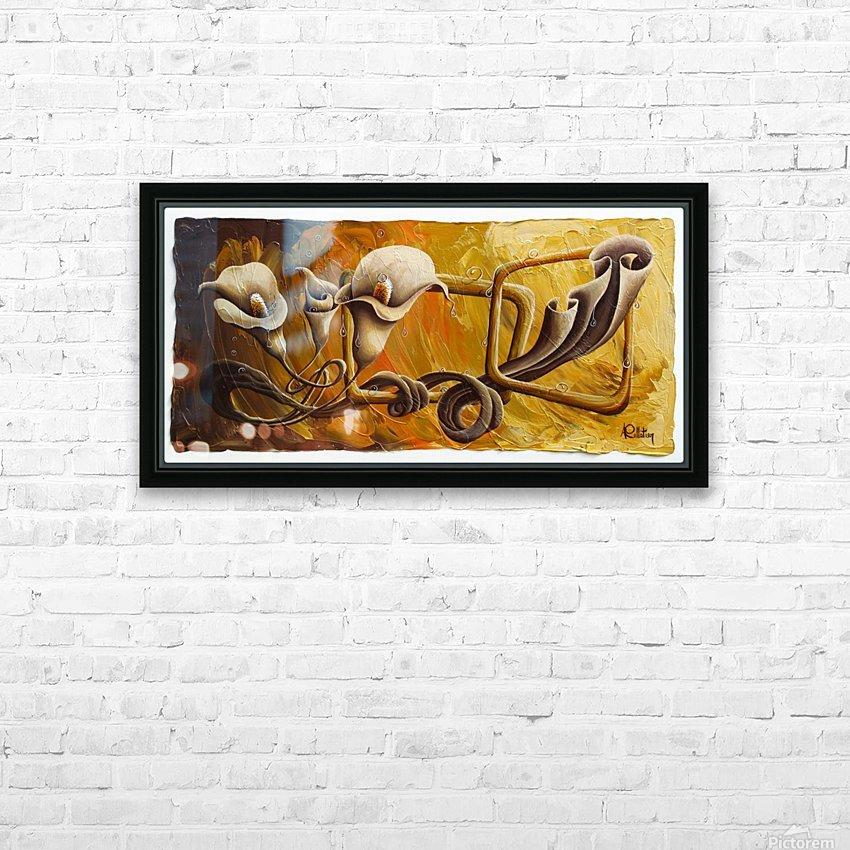 Drunken dance HD Sublimation Metal print with Decorating Float Frame (BOX)