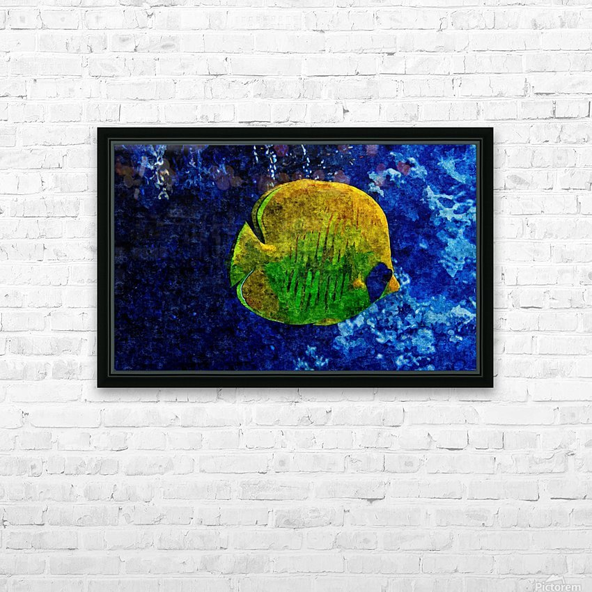 Under The Seal Lone HD Sublimation Metal print with Decorating Float Frame (BOX)