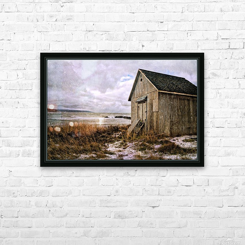 Weathered HD Sublimation Metal print with Decorating Float Frame (BOX)