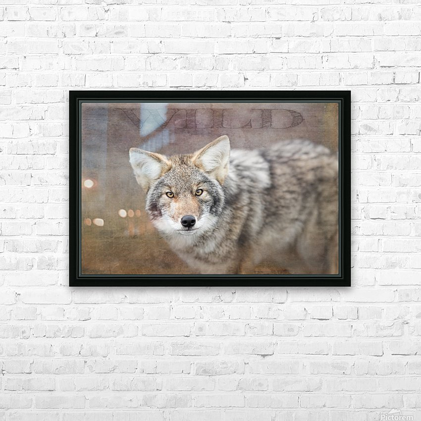 Wild HD Sublimation Metal print with Decorating Float Frame (BOX)