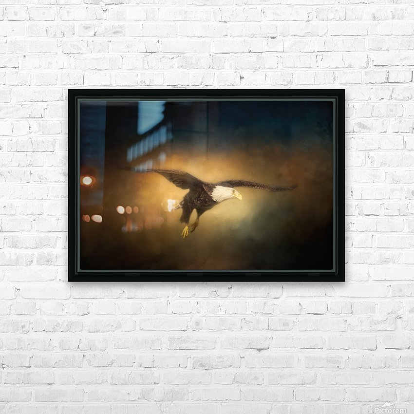 High Altitude HD Sublimation Metal print with Decorating Float Frame (BOX)