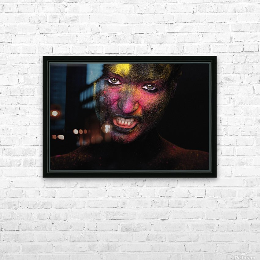 RGB feelings HD Sublimation Metal print with Decorating Float Frame (BOX)