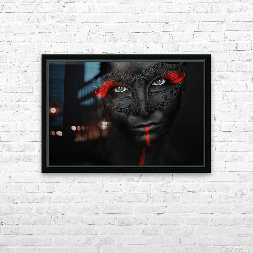 Dark passion HD Sublimation Metal print with Decorating Float Frame (BOX)