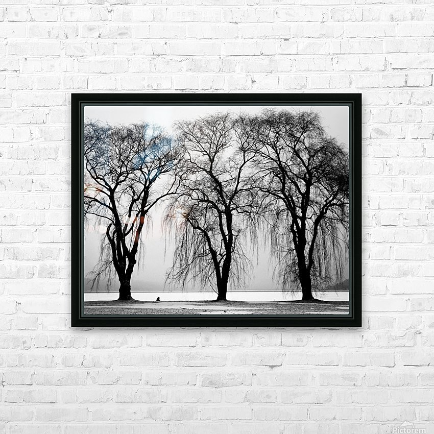 Trio HD Sublimation Metal print with Decorating Float Frame (BOX)