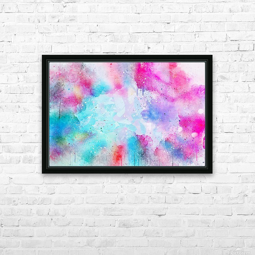 background9 HD Sublimation Metal print with Decorating Float Frame (BOX)