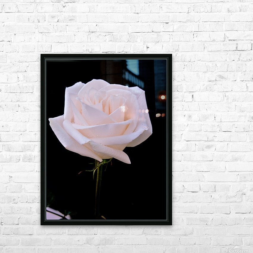 Rose for bride HD Sublimation Metal print with Decorating Float Frame (BOX)
