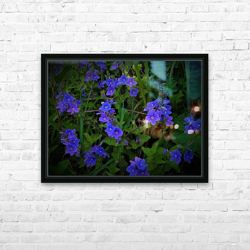 Blue eyes HD Sublimation Metal print with Decorating Float Frame (BOX)