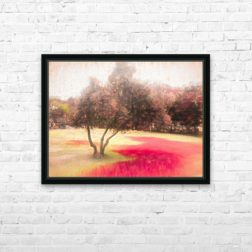 The Raanana Park 1 HD Sublimation Metal print with Decorating Float Frame (BOX)