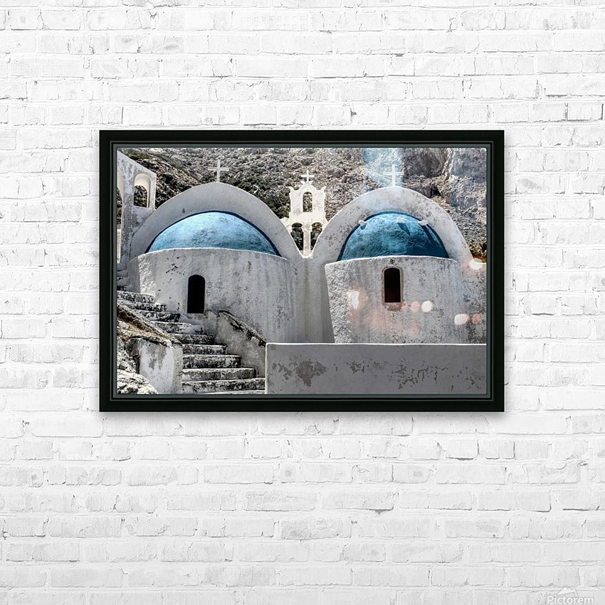 Landscape - Church HD Sublimation Metal print with Decorating Float Frame (BOX)