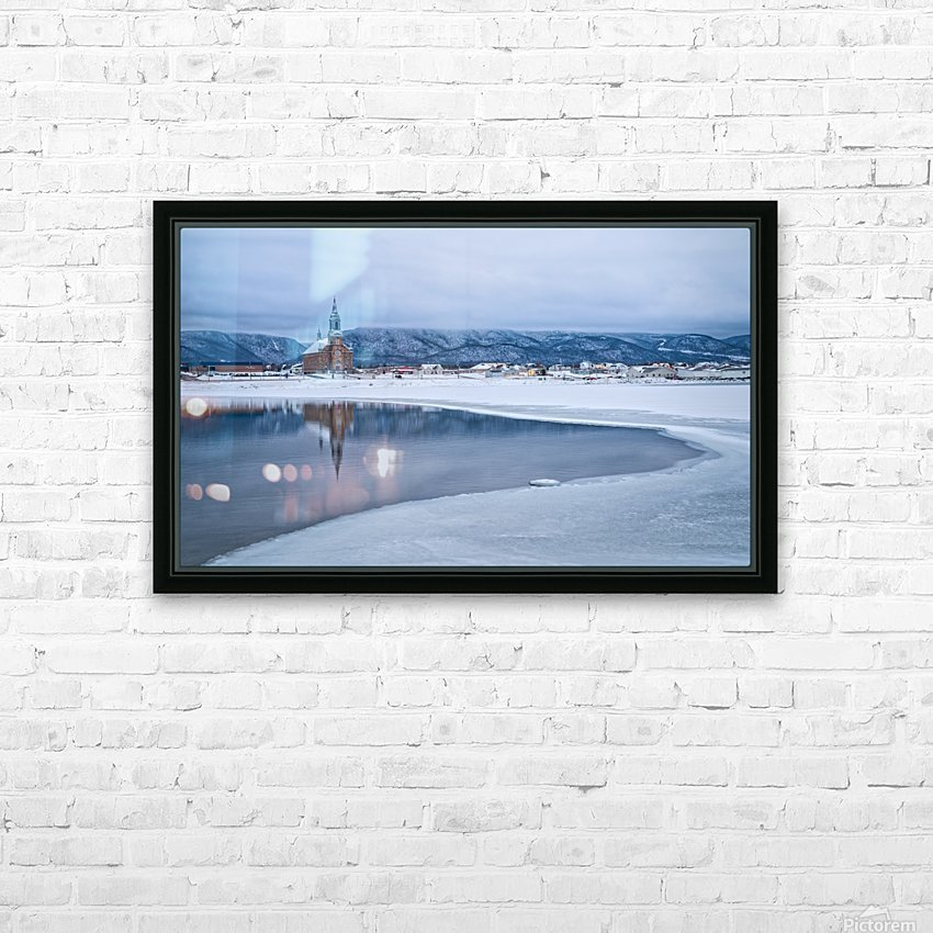 Tranquility HD Sublimation Metal print with Decorating Float Frame (BOX)
