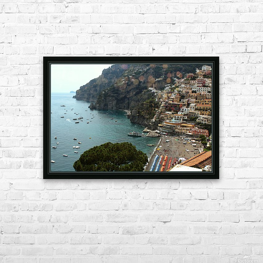 Landscape - Italy HD Sublimation Metal print with Decorating Float Frame (BOX)