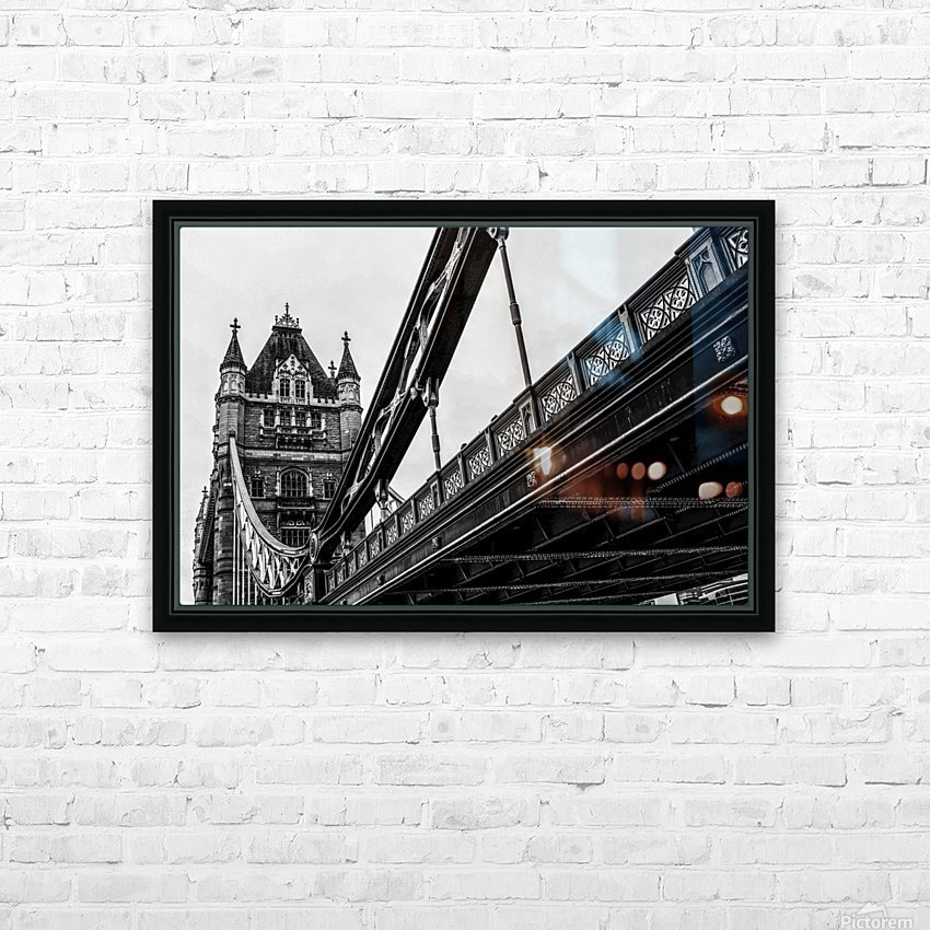 Tower Bridge Close up - London - Uk HD Sublimation Metal print with Decorating Float Frame (BOX)