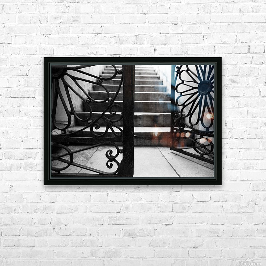 The gate HD Sublimation Metal print with Decorating Float Frame (BOX)