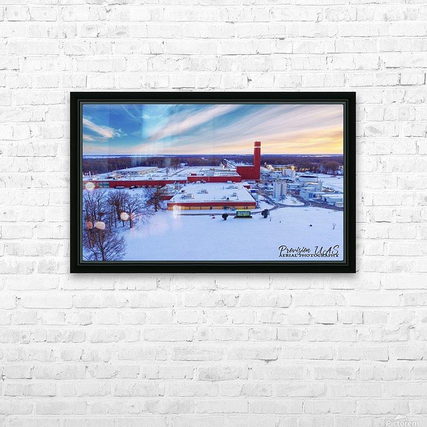 Lonoke, AR | Remington Winter HD Sublimation Metal print with Decorating Float Frame (BOX)
