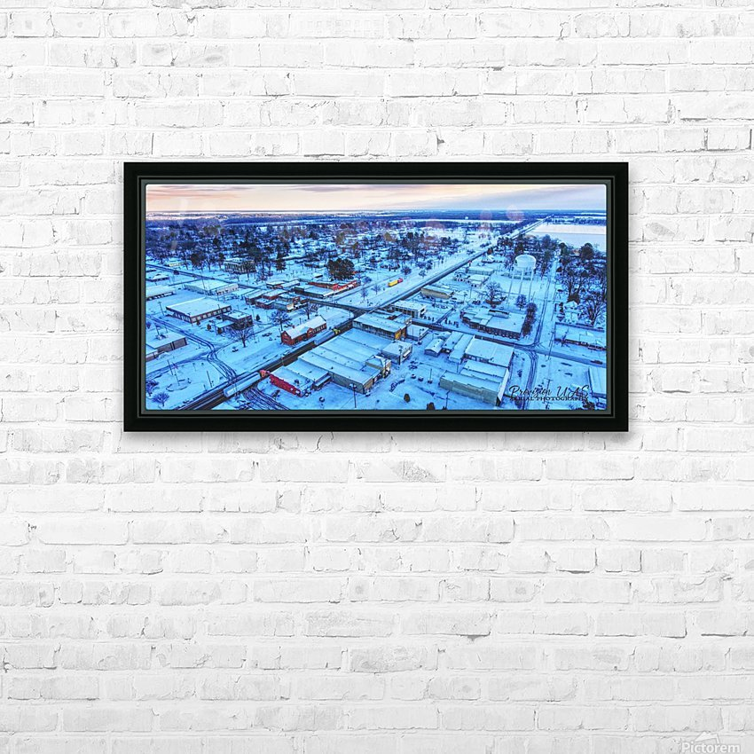 Lonoke, AR | Snowday! HD Sublimation Metal print with Decorating Float Frame (BOX)