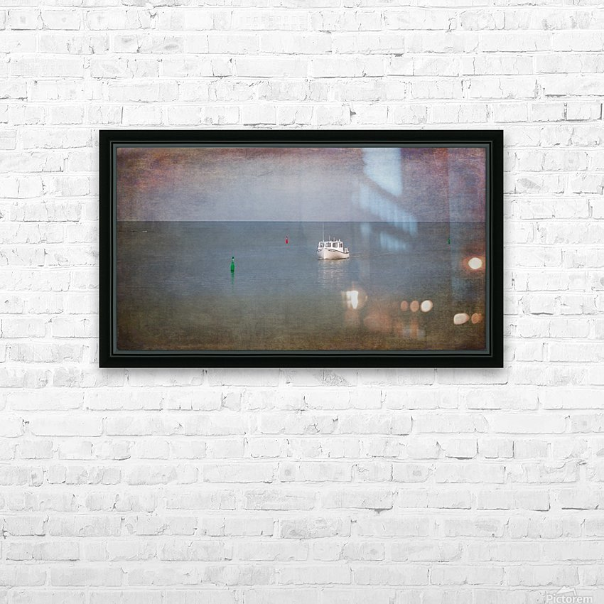 Shelley and Danny HD Sublimation Metal print with Decorating Float Frame (BOX)