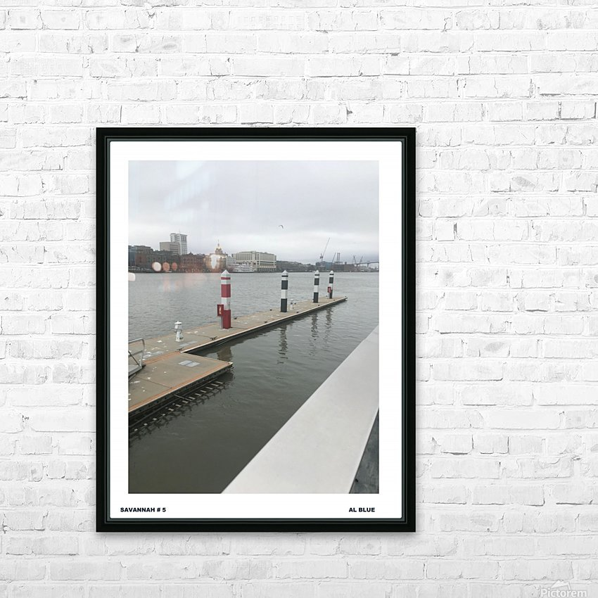 BLUEPHOTOSFORSALE 021 HD Sublimation Metal print with Decorating Float Frame (BOX)