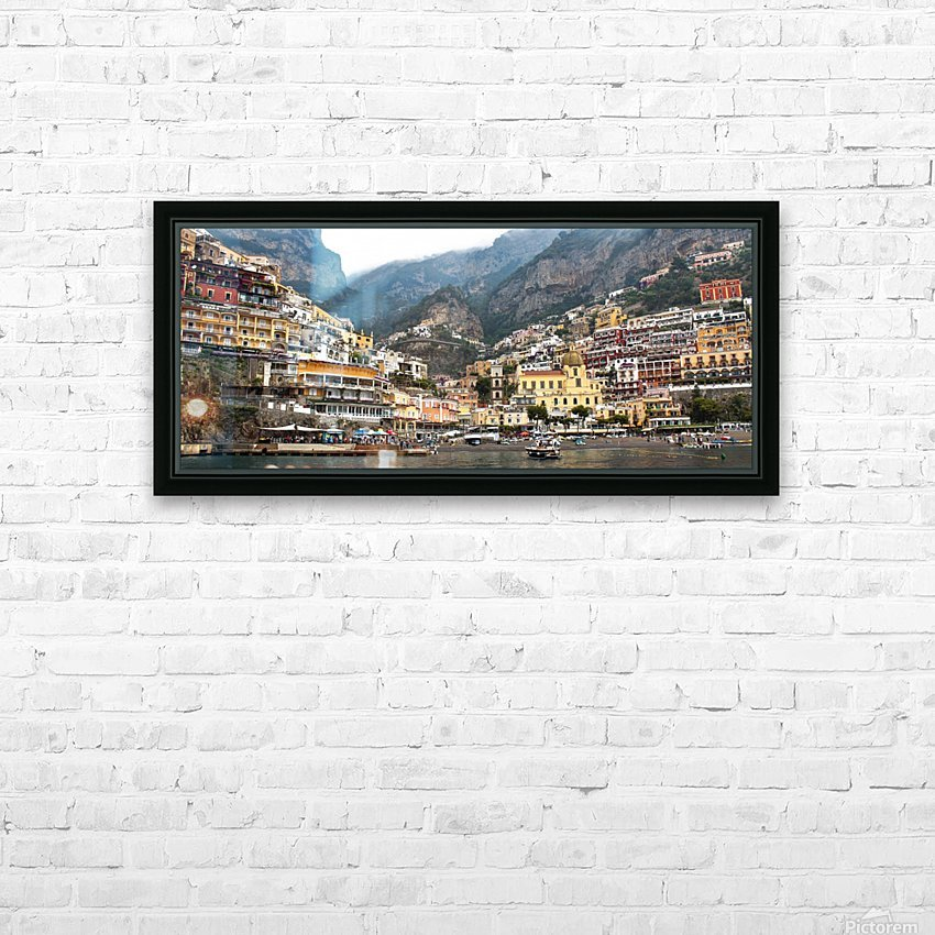 Artistic Panoramic Landscape HD Sublimation Metal print with Decorating Float Frame (BOX)
