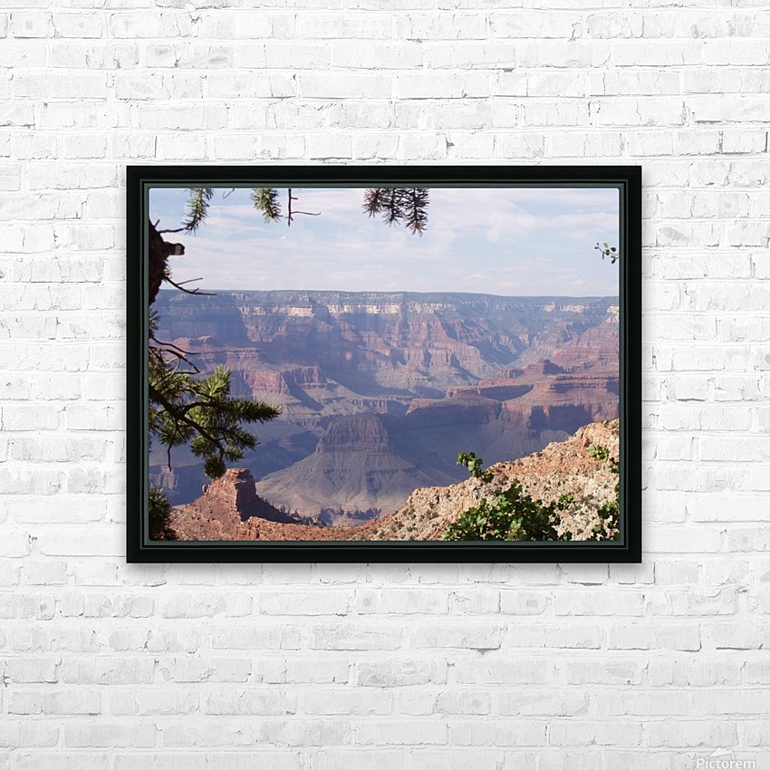 Grand Canyon Photo HD Sublimation Metal print with Decorating Float Frame (BOX)