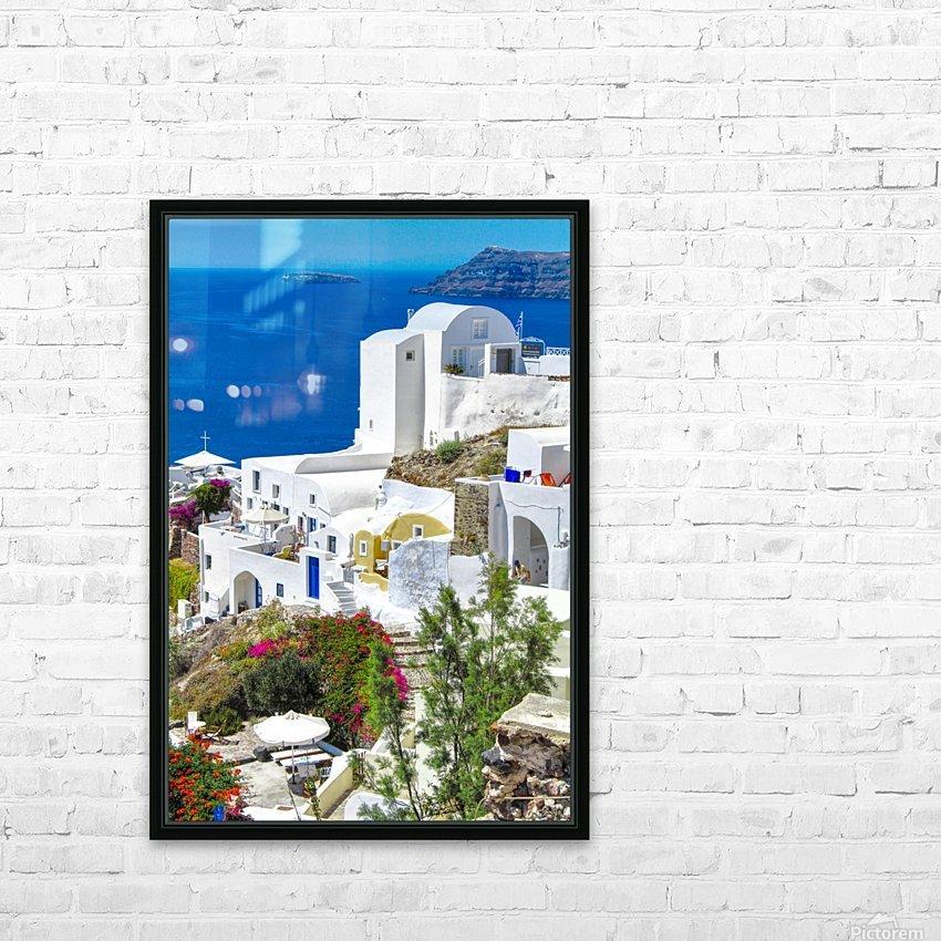 Portrait - Beautiful Village  HD Sublimation Metal print with Decorating Float Frame (BOX)