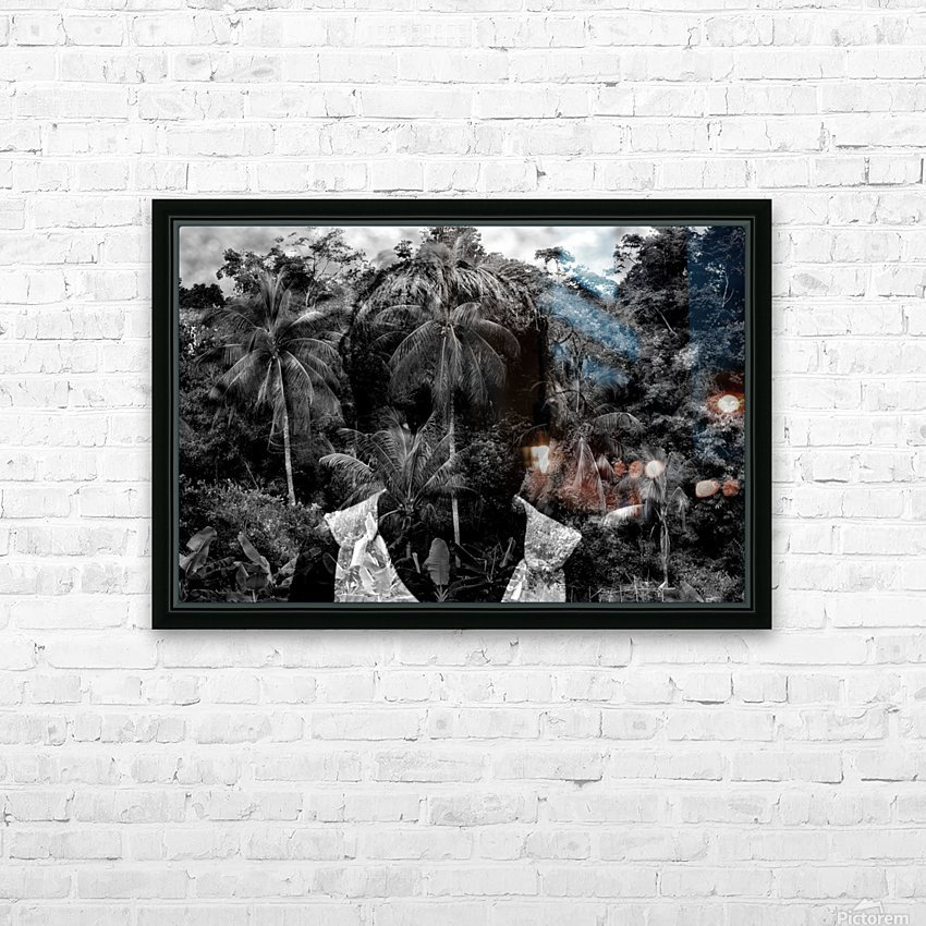 Guyana Child of the jungle  HD Sublimation Metal print with Decorating Float Frame (BOX)