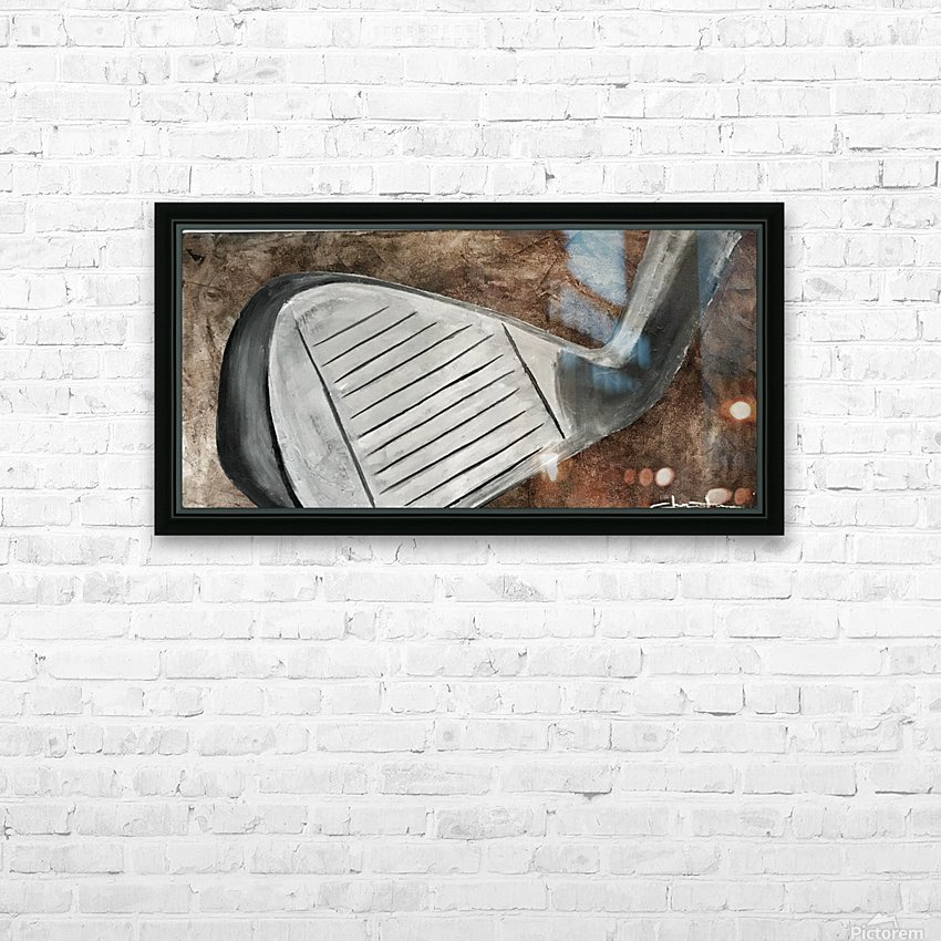 Golf Nouveau I HD Sublimation Metal print with Decorating Float Frame (BOX)