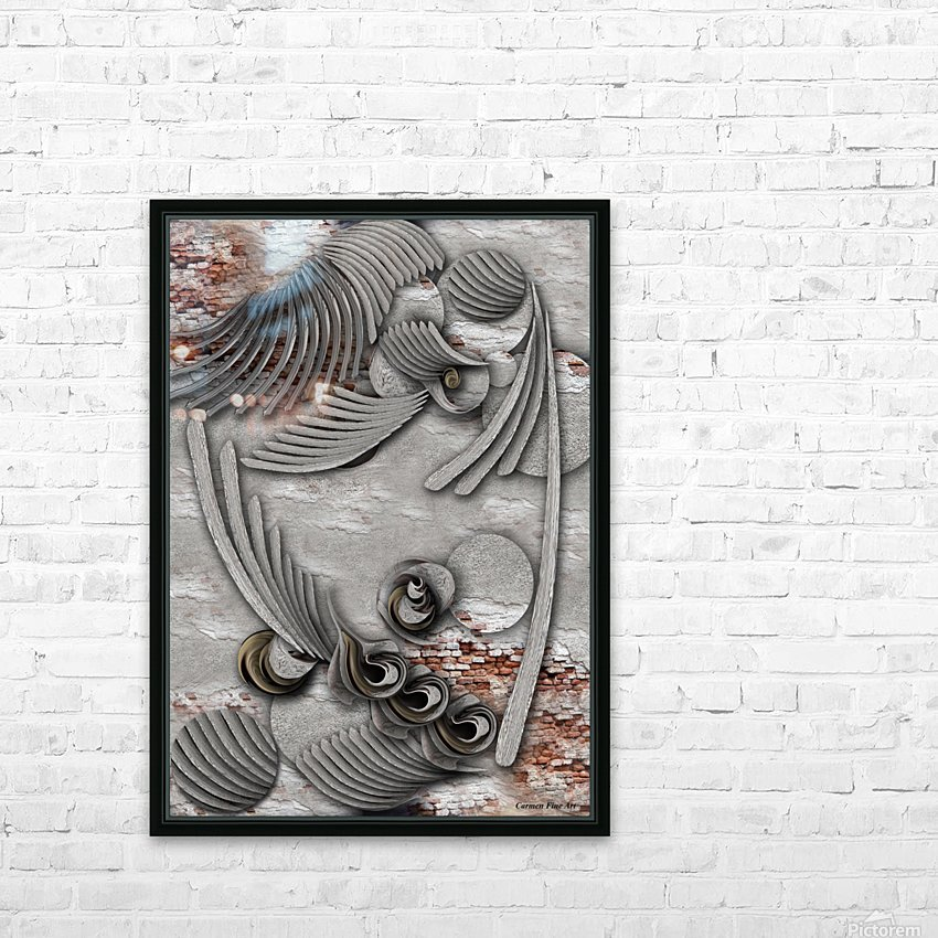Bourgeoisie Creation HD Sublimation Metal print with Decorating Float Frame (BOX)