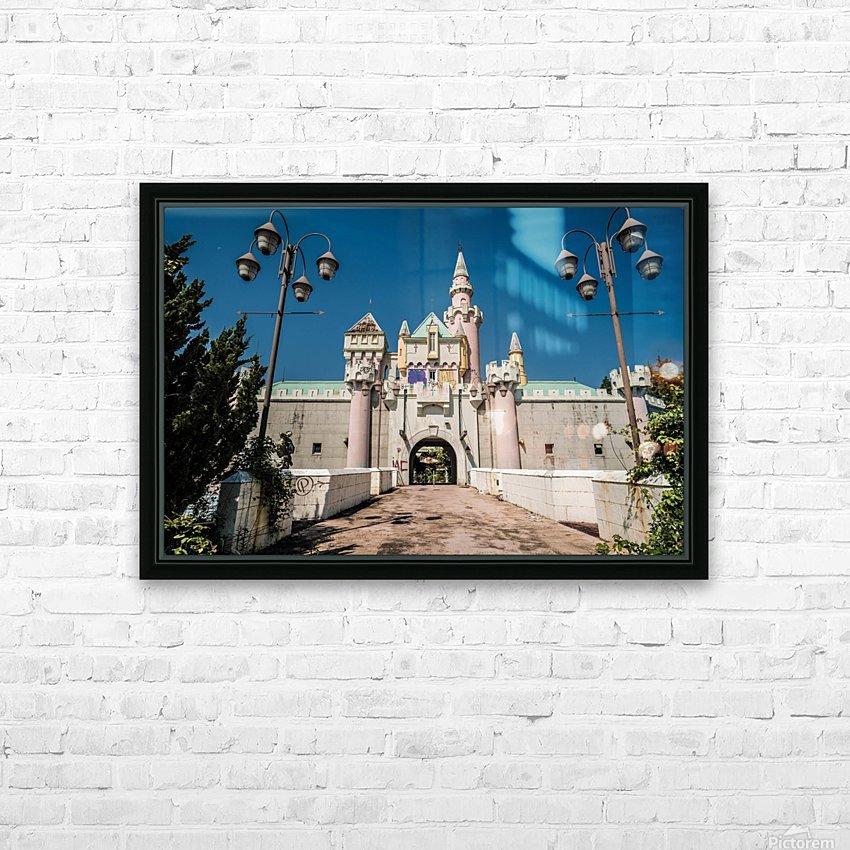 Nara Dreamland HD Sublimation Metal print with Decorating Float Frame (BOX)