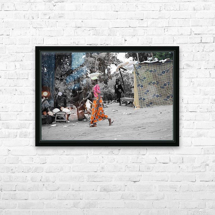 Senegal HD sublimation métal imprimé avec décoration flotteur cadre (boîte)