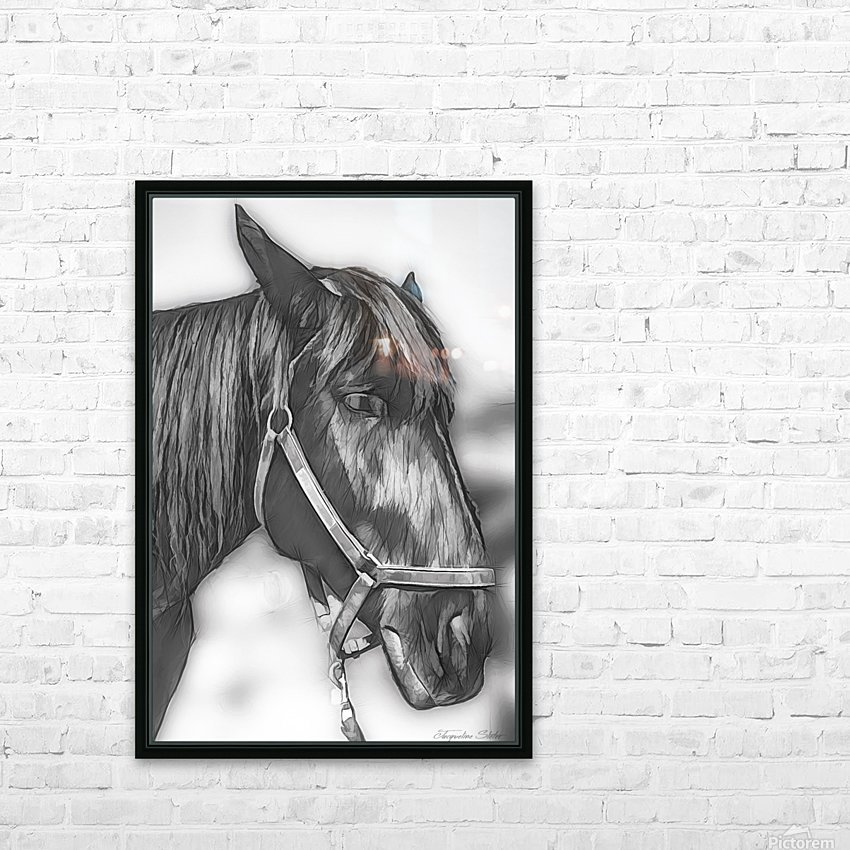 A Real Beauty HD Sublimation Metal print with Decorating Float Frame (BOX)