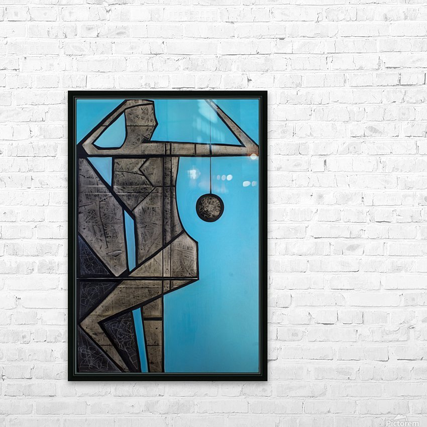 Garden of Stones    HD Sublimation Metal print with Decorating Float Frame (BOX)