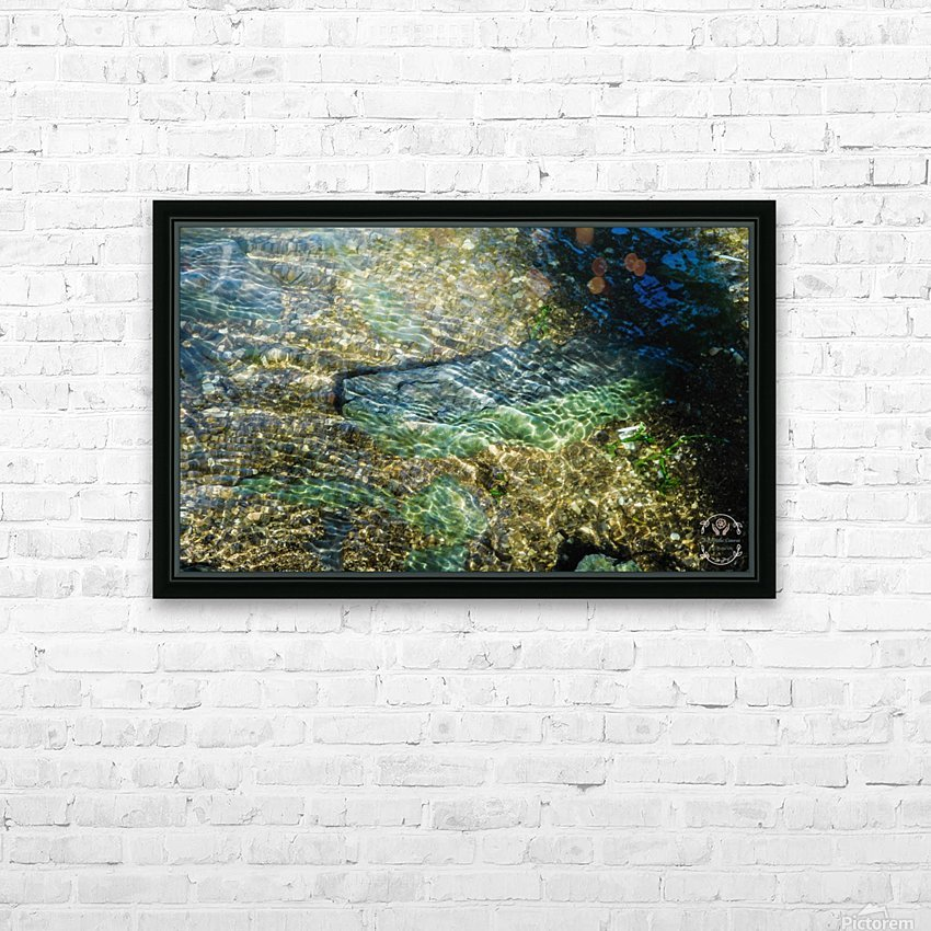 Lake Crystal HD Sublimation Metal print with Decorating Float Frame (BOX)