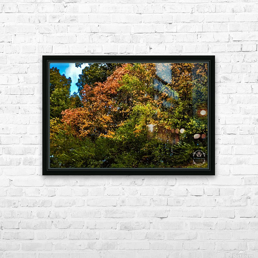 Nature in Fall HD Sublimation Metal print with Decorating Float Frame (BOX)