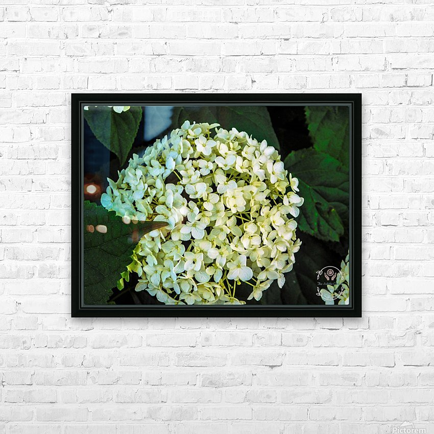 White Perfection HD Sublimation Metal print with Decorating Float Frame (BOX)