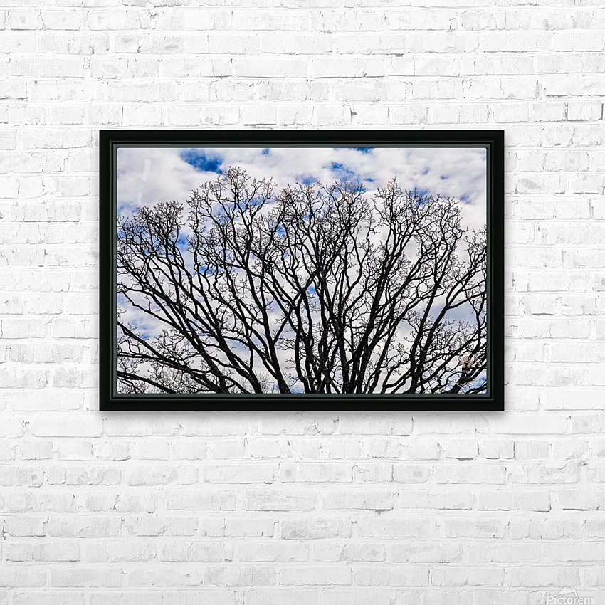 Clear skys HD Sublimation Metal print with Decorating Float Frame (BOX)
