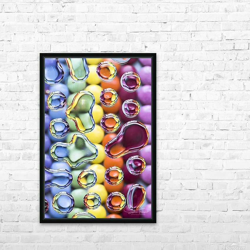 Smarties HD Sublimation Metal print with Decorating Float Frame (BOX)
