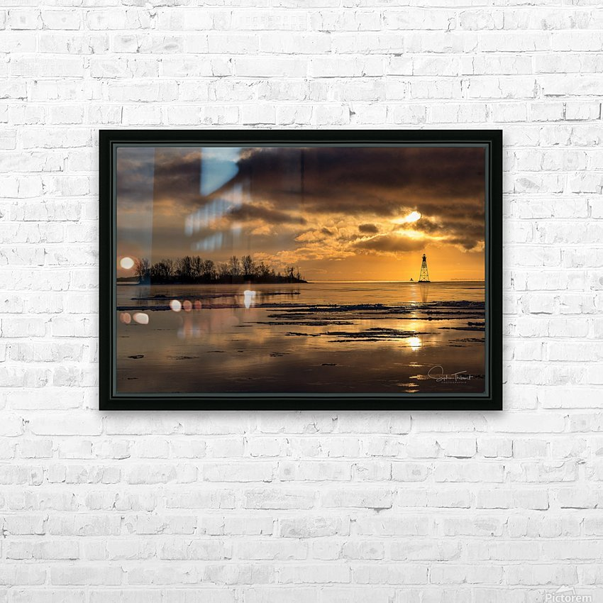 Île Dixie HD Sublimation Metal print with Decorating Float Frame (BOX)