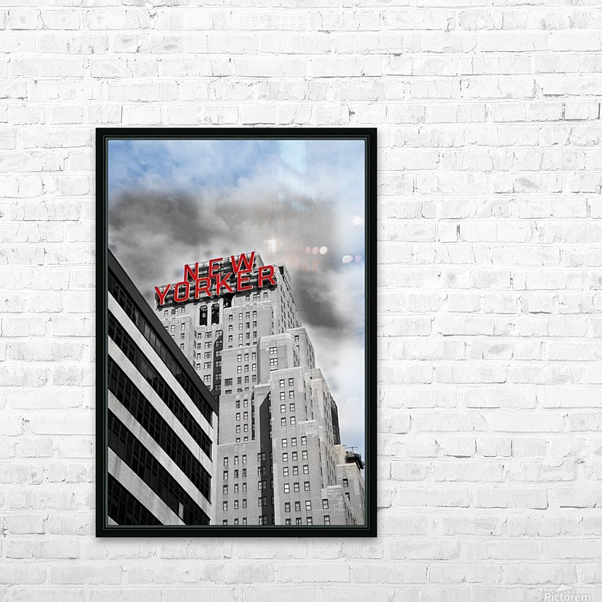 NewYorker HD Sublimation Metal print with Decorating Float Frame (BOX)
