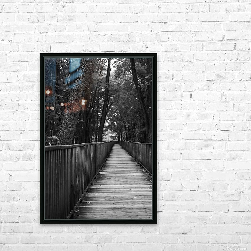 A long way HD Sublimation Metal print with Decorating Float Frame (BOX)